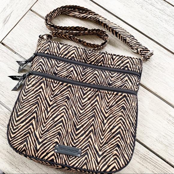 Vera Bradley Handbags - Vera Bradley Animal Print Crossbody Bag